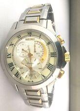 Seiko Premier Kinetic Chronograph Men's Watch SNL042P1  SNL042