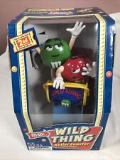 More details for m&m's wild thing rollercoaster sweet chocolate candy dispenser collectibles (2)