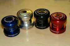 "woodman headset 1 1/8"" external blue,red,silver or black"