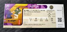 2019 Rugby World Cup Ticket Stub, Japan  vs South Africa Match 44