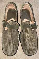 Born Womens 6  Ballet Born MJF5 Flats Shoes Bow Slip-On Slides Loafers Boat Used