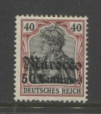 1906 German offices in MOROCCO  50 centimos Germania with op mint*,  $ 48.00