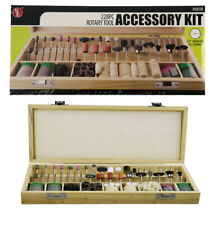 228pc. Rotary Tool Accessories Set With Wooden Case RA9228