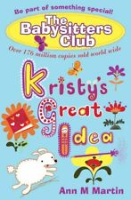 Kristy's Great Idea (Babysitters Club 2010),Ann M. Martin