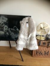 H&M new with tags, stunning faux fur gilet