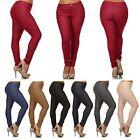 Women Plus Size Cotton Slim Cutting Jegging Stretch Pants Size L to 3XL 7 Colors