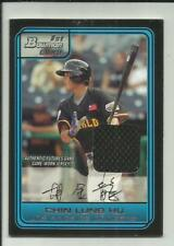 Chin Lung Hu 2006 Bowman Draft Futures Game Prospects Relic Jersey #FG26  BV $25