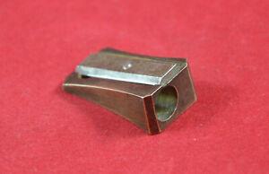 Antique Vintage German Brass pencil sharpener Original