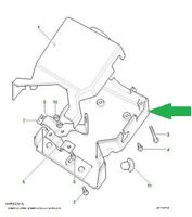 Land Rover Defender 90, Defender 110 Lower Steering Column Shroud MTC3801