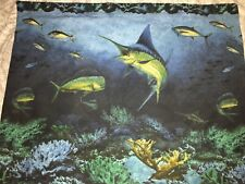 Kimlor Mills Coral Reef Big Game Fish Large Pillow Cases King Queen Set Of 2