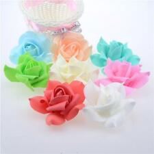 Fancy Rose Artificial Flower Decorative Handmade Fake Wreath Party Crafts 10 Pcs