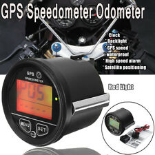 60mm GPS Speedometer Odometer Gauge Digital for Motorcycle Marine Car Truck Boat