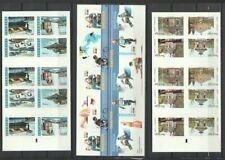 Sweden 2001 - 2004 6 Different Complete Mint Booklets CV $100.50