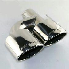 1 X Terminale Scarico Auto doppio AMG acciaio inox in 63mm DX o SX Mercedes Benz