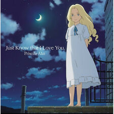 PRISCILLA AHN - JUST KNOW THAT I LOVE YOU. KOREA EDITION BRAND NEW SEALED