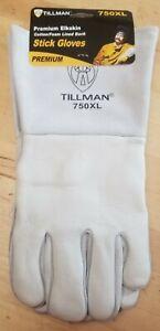 Tillman 750 Premium Top Grain Elkskin Welding Gloves X-Large
