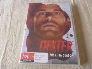 Dexter : Season 5 (DVD, 2013, 4-Disc Set) Region 4 Michael C. Hall