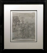 Guillaume Azoulay Untitled INK on paper  Hand Signed SUBMIT OFFER!