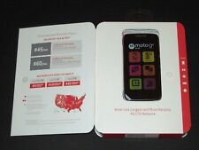 Brand New, Open-Box, Verizon Prepaid Moto G4 Play Smartphone, Data Unlocked Only