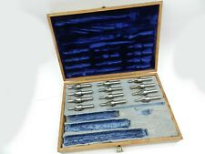 60 Degree Center Reamer Set - Crown Reamer, Solid Piloted, 12 pcs. .22 - .35 Cal