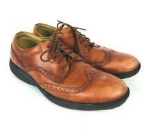 Cole Haan Grandsprint Men Sz 10 M Brown Wingtip Grand.OS Lunar Lace Casual Shoe