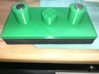 Tesla Model X Jack Pad Adapter Lift Point Pad For Tire Service Green