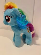 "TY Sparkle My Little Pony Plush Rainbow Dash 8"" Stuffed Toy Animal Blue With Tag"