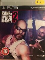 #3115 - PS3 - Kane & Lynch 2 Dog Days PS3 Playstation 3
