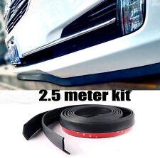 """Universal 100"""" Car Lip Skirt Protector Front Bumper Spoiler Side Rubber Splitter"""