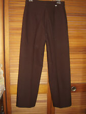 Vintage Levi's Bend Over Women's Slacks 14 Dark Brown