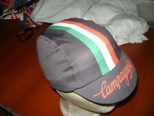 CAMPY CYCLING CAP ITALIA HAT CAP POLYESTER SUBLIMATED UV RAY PISTA CAMPAGNOLO