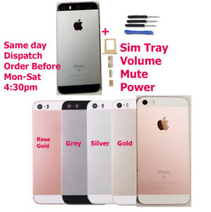 Genuine iPhone 5S & iphone SE Back Cover Rear Battery Housing Door Cover + Tools
