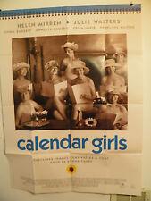 CALENDAR GIRLS Large French Poster  Near Mint 2003  HELEN MIRREN JULIE WALTERS