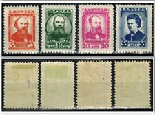 Latvia 1936, Sc B92-B95, MLH, Full Set .