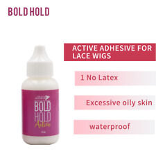 Bold Hold PINK Extreme Cream Lace Wig Waterproof Adhesive Hair System Glue 1.3oz