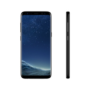 Neu Samsung Galaxy S8 - 64GB - Mitternachts Schwarz (Ohne Simlock) SM-G950U