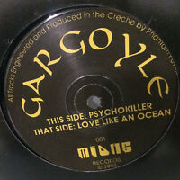 "Gargoyle – Psychokiller / Love Like An Ocean 1992 UK Vinyl TECH HOUSE 12""  MINT"