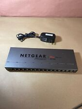 Netgear ProSafe Plus Switch 16-Port Gigabit Switch GS116E