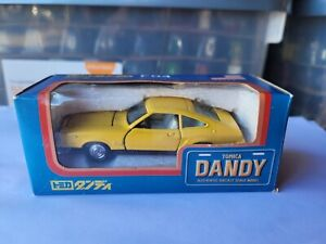 TOMICA DANDY F04 - FORD MUSTANG II [YELLOW] EXCELLENT VHTF BOX GOOD
