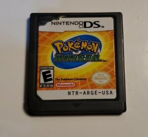 Pokemon Ranger Nintendo DS - Authentic - Tested - Cart Only Works Great!!