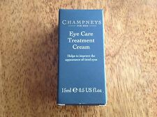 3 x Champneys Eye Care Treatment cream 15ml full size. Boxed & Brand New