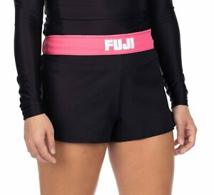 Fuji MMA BJJ Womens No Gi Essential Grappling Competition Fight Shorts - Pink