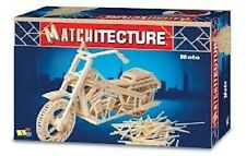 Matchitecture Matchstick motorcyle moto modèle Craft Kit moto nouveau