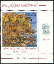 Monaco 1997 Arboretum/Trees/Plants/Nature/Waterfall/Conservation 1v (n40365)
