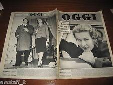 RIVISTA OGGI 1959/4=MARIA GABRIELLA DI SAVOIA=LUCIANA ANGIOLILLO=REMIGIO PAONE=
