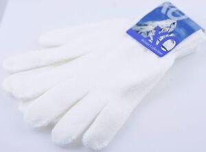 1 Pair Women's Girl's Winter Knit Gloves w/Full Fingers Small Size
