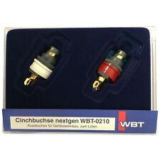 WBT-0210 Cu Schachtel nextgen™ Cinchbuchse 1x rot und 1x weiss 853820