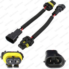 2 Pieces 9006 9012 HB4 Extension Wiring Harness Sockets Wire For Headlights Fog