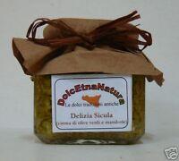 Deleite sicula (crema por aceite de oliva extra virgen verdi y almendras) 190 g