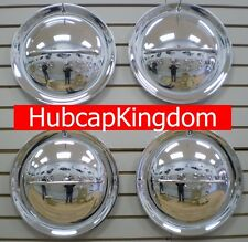 "15"" HOLLYWOOD FLIPPER Chrome Custom Hot Rod Hubcap Wheelcover SET of 4"